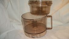 Vintage Hamilton Beach Food Processor Model 712-1 replacement containers