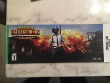 Playerunkown's Battlegrounds xbox one game -New