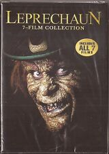 LEPRECHAUN 7 FILM COLLECTION - ALL 7 FILMS - 2016 DVD SET SHIPS NEXT DAY FAST