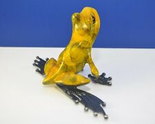 WHAT'S UP by Frogman Tim Cotterill Bronze Frog