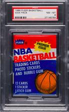 1986-87 FLEER BASKETBALL WAX PACK PSA 8 (JORDAN ROOKIE?)
