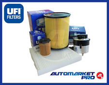 KIT FILTRI UFI FILTERS TAGLIANDO FORD FOCUS II 2 1.6 1600 TDCI TDI TURBO DIESEL