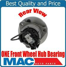 One 100% New Front Wheel Hub Bearing 4 Stud Chevrolet Cobalt 4 Wheel ABS 05-10