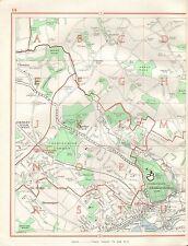 1964 VINTAGE Street Map-rickmansworth, sarratt, chorleywood, chenies