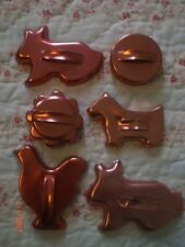 Mirro Copper Cookie Cutters