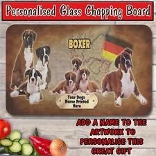 Personalizada Boxer Vidrio 6pcs Perro Mascota Casa de calentamiento De Regalo