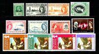 Cayman Islands  -. Lotto da 12  Francobolli (Stamps) - perfetti