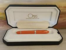 OMAS 360 Mezzo Mandarin Orange M 18K Nib Fountain Pen