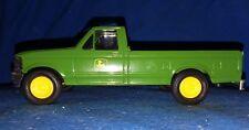 ERTL John Deere Co Pickup Truck 1970 Die Cast Green Standard Cab Extended
