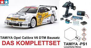 Tamiya 47461 - 1:10 RC Opel Calibra V6 DTM 300047461 - KOMPLETTSET - NEU & OVP!