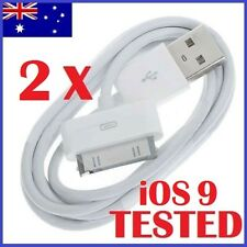 1 meter USB Data Cable Sync Charger for iPhone 4 4S 3GS 3 iPod Touch iPad 2 3