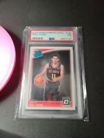 49801153 2018 Panini Donruss Optic 198 Trae Young RC Rated Rookie PSA 7 NM