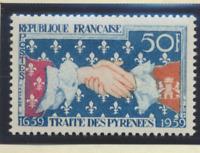 France Stamp Scott #932, Mint Hinged