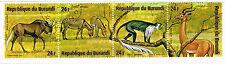 Burundi Fauna Arican Wild Animals set stamps 1975