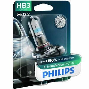 Philips X-tremeVision Pro150 Xtreme Vision Pro 150 Car Headlight Bulb HB3 Single