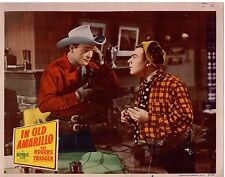ROY ROGERS AND TRIGGER IN OLD AMARILLO ORIG 11x14 LOBBY CARD  #1368
