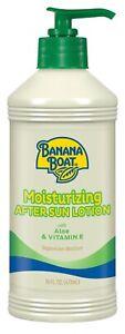 New Banana Boat Moisturizing Aloe After Sun Lotion 16 Oz.