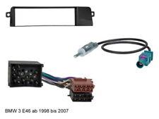 Radioblende BMW 3er E46 ISO Adapter Rundpin Fakra Antennenadapter DIN 1998-2004