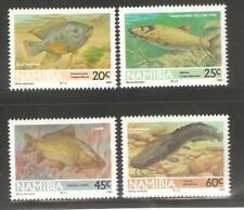 1992   NAMIBIA  -  SG  588 / 591  -  FRESHWATER FISH  -  UMM