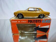 POLITOYS VIBRE GLASS 80 ALFA ROMEO GIULIA GT 1300 JUNIOR 1:41 - EXCELLENT IN BOX