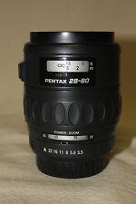 PENTAX-FA 1:3.5-4.7 28-80mm AUTOFOCUS POWER ZOOM PARTS OR REPAIR 6682