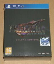 Final Fantasy VII Remake Deluxe Edition PS4 Limited PAL UK Sealed Collectors