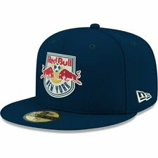 New era 59 fifty fitted Cap-mls new york red bulls Navy