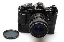 Canon ae-1 Program Black + RNC Tokina 28-50mm f4 + Winder