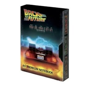 Back To The Future OFFICIAL RETRO STYLE VHS Notebook A5 🇬🇧 UK SELLER