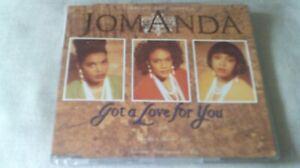 JOMANDA - GOT A LOVE FOR YOU - 1991 DANCE CD SINGLE