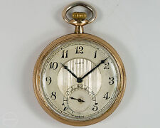 Elgin 12s 15j Pocket Watch with Two Tone Metal Dial  Circa 1924!