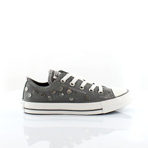 Converse CT Ox Grey Canvas Womens Trainers 547297C