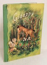 1948 GIDAPPY horse colt forest animals MARGIE illus