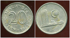 MALAISIE 20 sen 1979