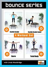MINI TRAMPOLINE Exercise DVD - Barlates Body Blitz BOUNCE SERIES - 4 Workouts