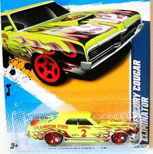 2012 Hot Wheels HW MAIN STREET #168 ∞ 69 MERCURY COUGAR ELIMINATOR ∞ GREEN KMART