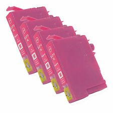 4 Magenta T2713XL non-OEM Ink Cartridge For Epson WorkForce WF-7110DTW