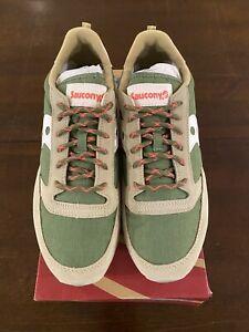 Saucony Jazz Original Brown Green Men's Shoe New In Box Size US 10 S70463-7