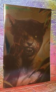DC Comics DCeased: Unkillables Zombie #2 CHEETAH SDCC Foil Variant IN HAND NM