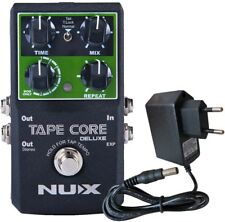 Nux Rond Core Deluxe Processeur D'Effets Delay Pédale + Keepdrum 9V