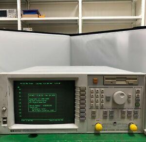 HP 8714ES RF Network Analyzer (S-parameter), 300 kHz to 3 GHz