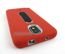 GRED GREY BLACK V2 IMPACT CASE COVER KICKSTAND FOR SAMSUNG GALAXY NOTE
