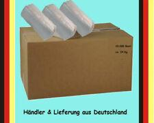 10.000 Papierhandtücher, Z oder V Falz, 25 x 23cm, Classic Natur Handtuch