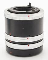 Panagor Zwischenring Set Zwischenringset Extension Tube 12 20 36 mm für Canon FD