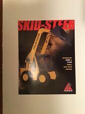 Mustang 2095 2105 Skid Steer Loader Sales Literature Amp Specifications