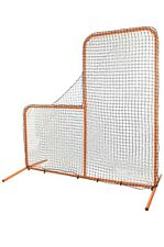CHAMPRO Brute Pitcher's Safety Steel Frame Protective L-Screen for Batting Ca...