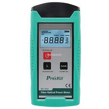 Prokits MT-7601-C Fiber Optic Power Meter Adapts to FC/SC/ST Connectors