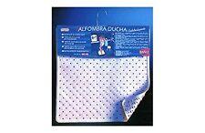 ALFOMBRA GOMA DUCHA 53X53CM. BLANCO