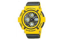 "RETRO 1998 Casio G-Shock Mint Condition ""GAUSSMAN MEN IN YELLOW"" AW-570Y9A Watch"