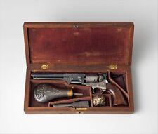 "COLT MODEL 1851 marine Percussion revolver numéro de série 29705, 12x8"" (A4) poster"